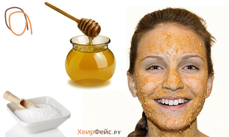 Маска с мёдом для лица в домашних условиях