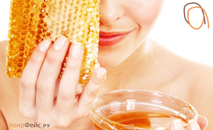 Маска для лица из меда от морщин