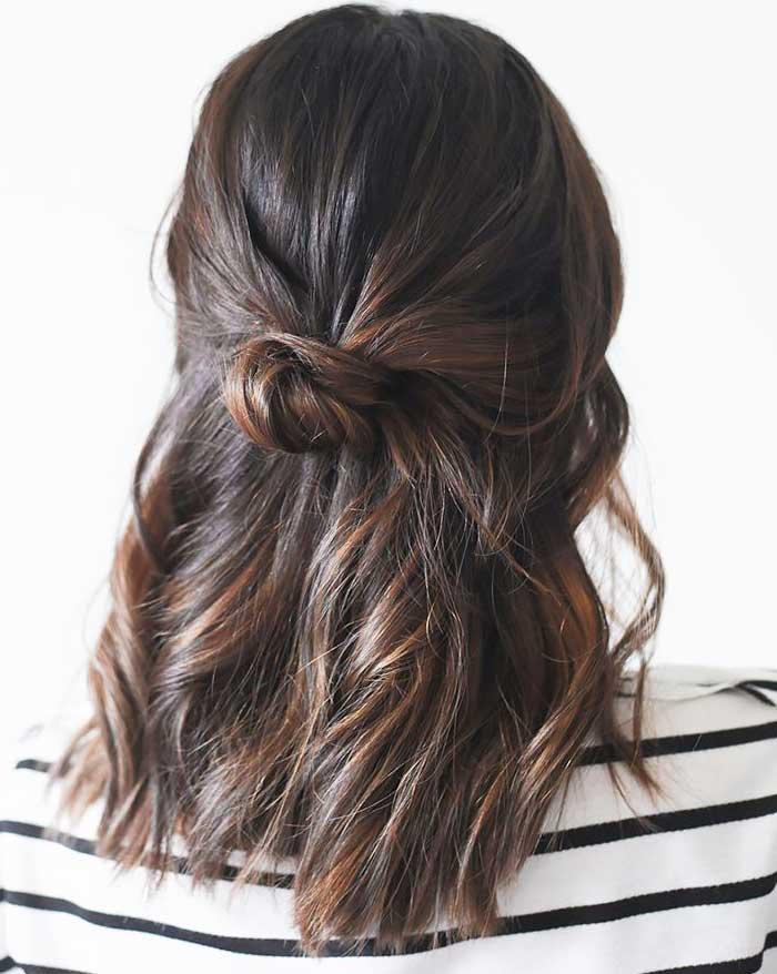 Прически на сре волосы