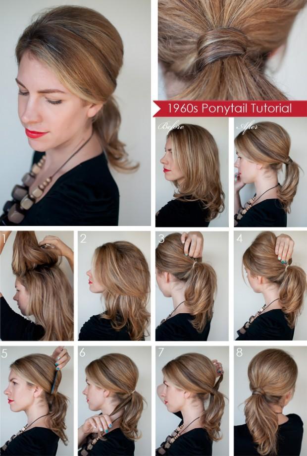 как делать причёску своими руками