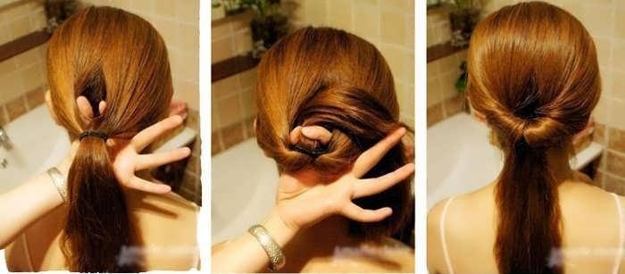 Быстрые прически на тонкие волосы средней длины своими руками