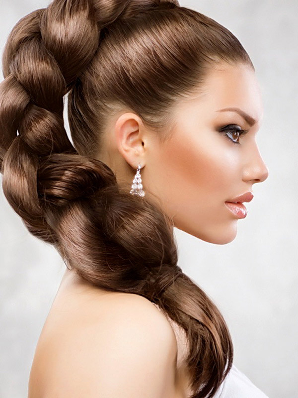Прически на длинный волос красивые